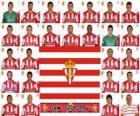 Team van Sporting Gijón 2010-11