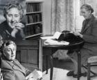 Agatha Christie (1890 - 1976) was een Brits schrijver van detectiveromans.