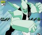 Diamondhead is een vreemdeling met een lichaam gemaakt van extreem hard glas