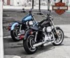 Twee Harley davidson
