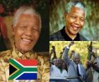 Nelson Mandela in zijn land bekend als Madiba, was de eerste democratisch gekozen Zuid-Afrikaanse president met algemeen kiesrecht.