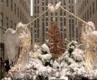 Engel in het Rockefeller Center