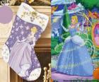 Kerst boot Cinderella