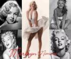 Marilyn Monroe (1926 - 1962) was een model en actrice van de Amerikaanse film