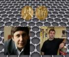 Nobelprijs voor de Natuurkunde 2010 - Andrey Gueim en Konstantin Novosiolov -