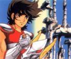 Pegasus Seiya, de hoofdpersoon van Saint Seiya of Knights of the Zodiac