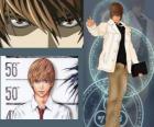 Light Yagami ook bekend als Kira, de protagonist van de anime Death Note