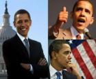 Barack Obama de eerste zwarte president het ambt van de Verenigde Staten van Amerika