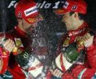 Fernando Alonso, Felipe Massa, Grand Prix van Korea (2010) (1e en 2e plaats)