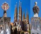 Verzoenende Kerk van de Heilige Familie - Sagrada Família - Barcelona, Spanje.
