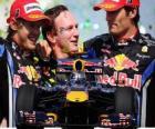 Red Bull F1 constructeurs Champion 2010