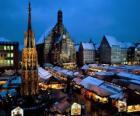 Christkindl Markt Neurenberg Beieren Duitsland