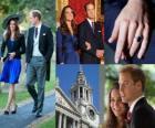 Betrokkenheid van prins Willem van Engeland naar Middleton Catherine