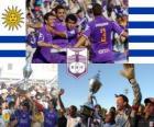 Defensor Sporting Club kampioen van Torneo Apertura 2010 (Uruguay)