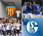 UEFA Champions League achtste finales van 2010-11, Valencia CF - FC Schalke 04