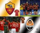 UEFA Champions League achtste finales van 2010-11, AS Roma - Shakhtar Donetsk