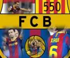 Xavi Hernandez 550 games voor FC Barcelona