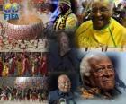 2010 FIFA Presidential Award voor aartsbisschop Desmond Tutu