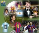 FIFA Ballon d'Or 2010 Winnaar Lionel Messi