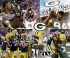 Green Bay Packers vieren hun Super Bowl 2011 te winnen