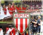 AS Monaco, die speelt voor de Franse competitie