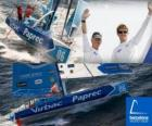 Virbac-Paprec 3 de winnaar van de Barcelona World Race 2010-11