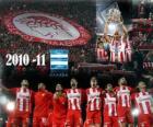 Olympiacos FC, de Griekse competitie kampioen 2010-11
