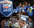 FC Porto Portugese competitie kampioen 2010-11