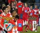 UEFA Europa League 2010-11 halve finale Benfica - Braga
