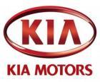 Logo van KIA Motors, Zuid-Koreaanse autofabrikant