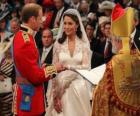 Britse Royal Wedding tussen prins William en Kate Middleton, als ik wil