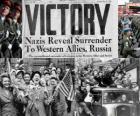 Ter herdenking van de geallieerde overwinning op het nazisme en het einde van de Tweede Wereldoorlog. Dag van de Overwinning, 08 mei 1945