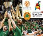 Panathinaikos, PAO, kampioen van de 2011 Euroleague Basketball