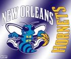 Logo New Orleans Hornets, NBA-team. Southwest Division, Western Conference