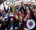 Rangers FC, Glasgow Rangers, kampioen van de Schotse Football League 2010-2011