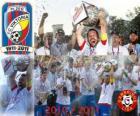 FC Viktoria Plzen, kampioen van de Tsjechische League Soccer, Gambrinus Liga 2010-2011