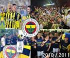 Fenerbahçe SK, kampioen van de Turkse voetbalcompetitie, Super Lig 2010-2011