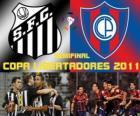 Santos FC - Cerro Porteño. Halve finale Copa Libertadores 2011