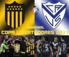 Peñarol Montevideo - Velez Sarsfield. Halve finale Copa Libertadores 2011