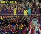 FC Barcelona, kampioen van de UEFA Champions League 2010-2011