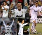 Cristiano Ronaldo, topscorer in de geschiedenis van de League Spaans 2010-2011