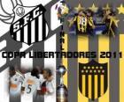 Santos FC - Peñarol Montevideo. Definitieve Copa Libertadores 2011