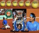 Roland Garros kampioen Rafael Nadal 2011