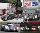 Kampioen 24 Uren van Le Mans 2011 Audi R18 TDI