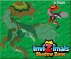 Fire Dragon. Invizimals Shadow Zone. De draken die vuur gooien uit hun mond hebben gevreesd sinds oude tijd