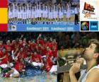 Spanje, kampioen van EuroBasket 2011