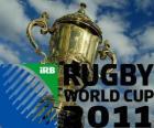 2011 Wereldkampioenschap rugby. Het is gevierd in Nieuw-Zeeland van 9 september-23 oktober