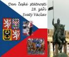 Tsjechische Nationale Dag. 28 september St. Wenceslas, de patroonheilige van de Tsjechische Republiek