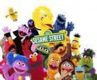 Belangrijkste karakters van Sesamstraat