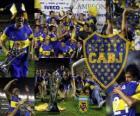 Boca Juniors, kampioen van de toernooi Apertura 2011, Argentinië